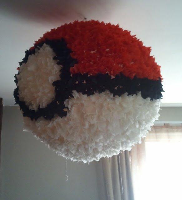 cheap wall art for living room rustic decorating ideas pokeball regolit pinata - ikea hackers