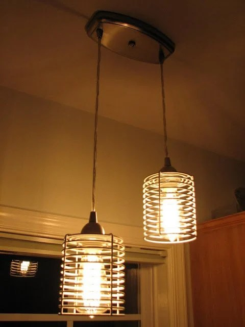 lights over kitchen island swags blanken industrial pendant light - ikea hackers