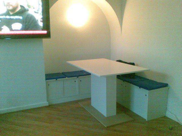 Booth Seating On A Shoestring Ikea Hackers