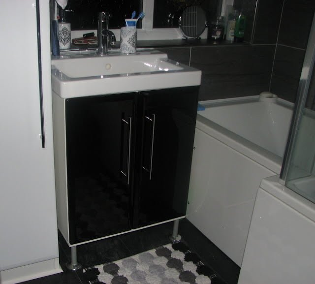 A Fullen Washstand Re Vamp Bathroom Ikea Hackers