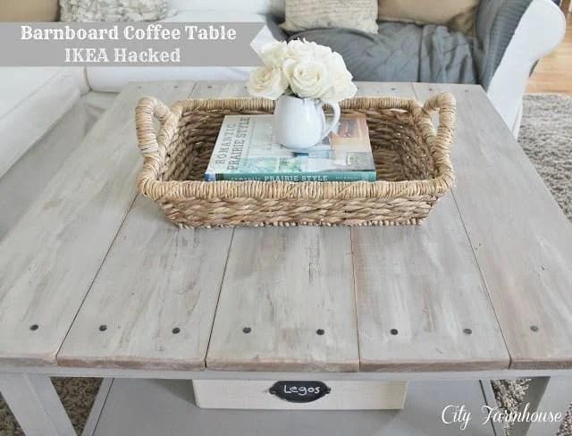 Hemnes Beautified Barnboard Coffee Table