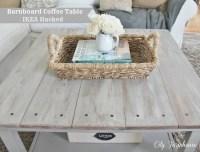 Hemnes Beautified Barnboard Coffee Table - IKEA Hackers