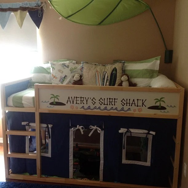 Spectacular Ikea Kura Bed u better as a Surf Shack