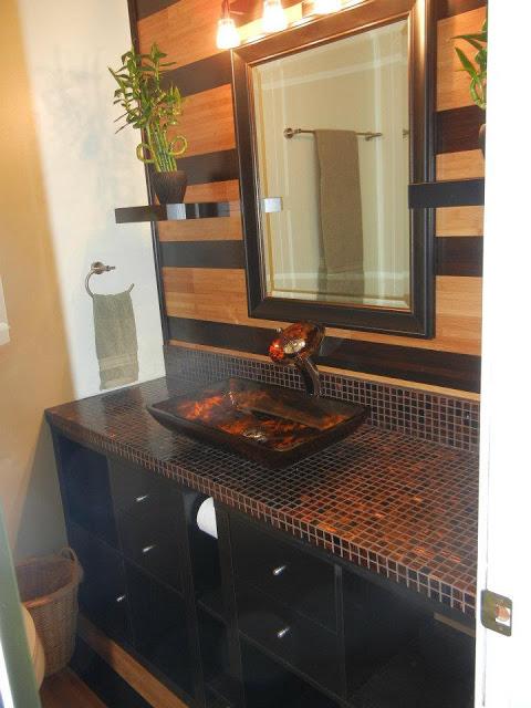 Expedit Ceptional Bathroom Vanity Ikea Hackers