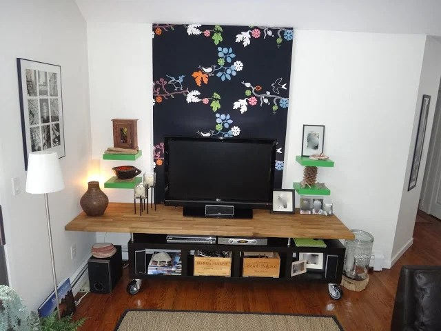 Lack Kitchen Counter Top Modern Tv Stand
