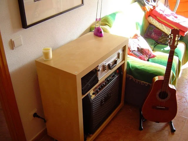 Expedit turned into a guitar amp enclosure  IKEA Hackers
