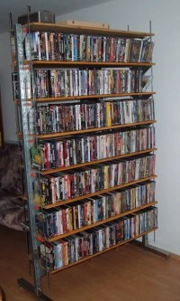Broder DVD shelf