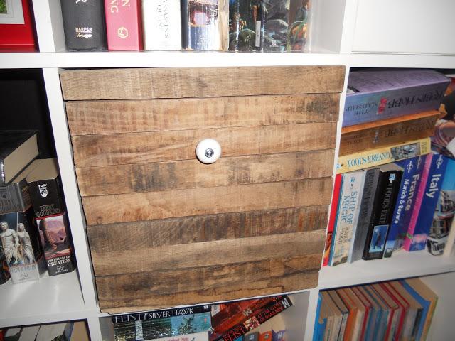 Old Wood Expedit Box Ikea Hackers