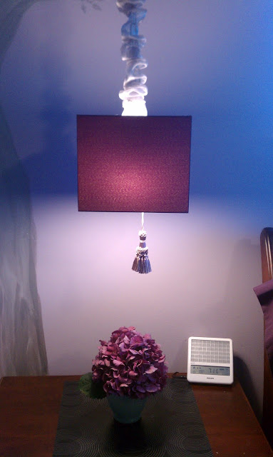 From Table to Ceiling A Hanging Klabb Lamp  IKEA Hackers