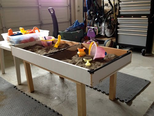 Kids Sand Table From Under Bed Storage Drawer Ikea Hackers