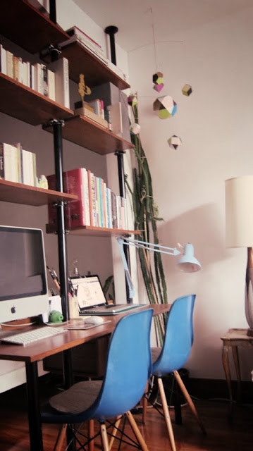 Mid Century Room Divider >> Stolmen into mid-century unit/space-divider/desk - IKEA Hackers