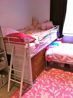 Cute Bunk Bed to Loft Bed