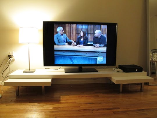 Low Lack Attack TV Stand IKEA Hackers IKEA Hackers
