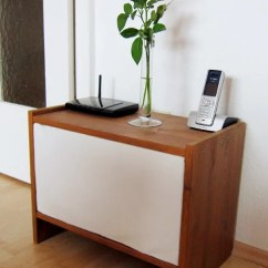Cheap Side Tables For Living Room With Navy Blue Sofa Rast To The Rescue: Effectively Hiding Cable Clutter ...