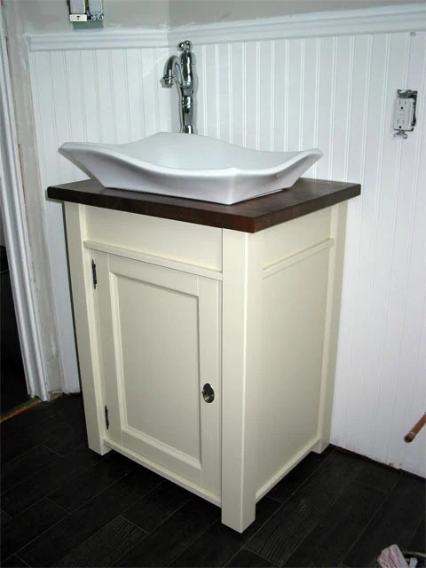"Used Bathroom Vanity Cabinets White Mdf Bathroom Cabinet: 18"" Ensuite Bathroom Vanity"