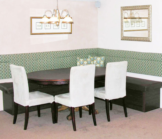 Dining Room Booth: Custom Dining Booth From Bookcases