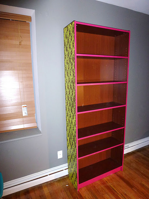 Neon Lace Billy Bookshelf IKEA Hackers