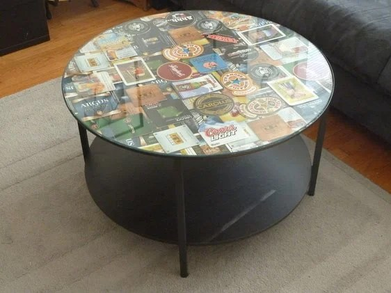 Coffee Table Coaster Frame Ikea Hackers