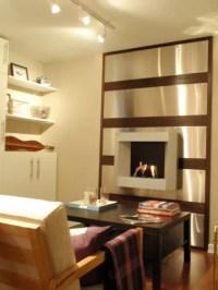 Udden Stainless Steel Fireplace Wall - IKEA Hackers - IKEA ...