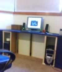 Customised bay window desk - IKEA Hackers - IKEA Hackers