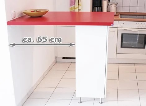Ikea kitchen counter for under 70 ikea hackers for Ikea cucina 3d