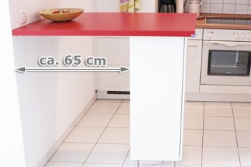 Rimforsa kitchen chemistry diy glass tube holder ikea - Tavolo penisola ikea ...