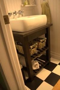 Bekvam Kitchen Cart Vanity - IKEA Hackers - IKEA Hackers