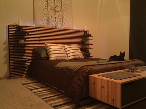 Trend Materials x MANDAL headboards u plywood with a finished surface u x u lumber at least ft long brackets wood screws black paint wood saw