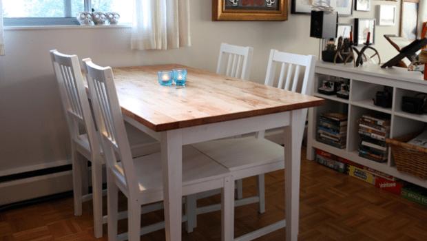 ikea jules chair comfortable bedroom chairs bjÖrkudden modern harvest table - hackers