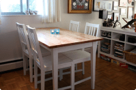 BJRKUDDEN Modern Harvest Table - IKEA Hackers - IKEA Hackers