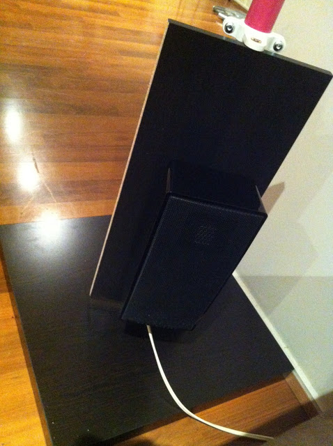 Low Cost Home Theater Speaker Stand  IKEA Hackers  IKEA