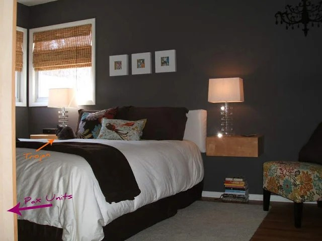 Falling Apart Wallpaper Bedroom Malm Nightstand And Pax Tv Stand Hack Ikea