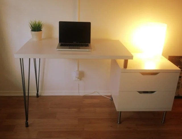 Stolmen Hairpin Leg Desk Ikea Hackers