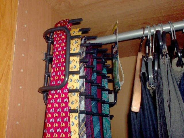 ikea kitchen cabinets remodel photos boholmen repurposed as tie rack - hackers