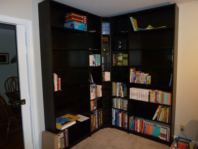 Billy Benno Corner Bookshelves Ikea Hackers