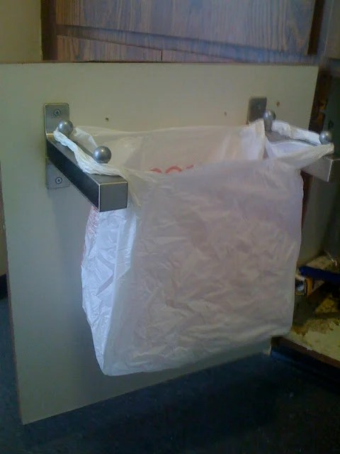 Undersink Rubbish binlike hanger thingy  IKEA Hackers