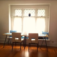 Bay Window Seat Kitchen Table Hotel With Linnmon And Lerberg, A Long Narrow Dining - Ikea ...