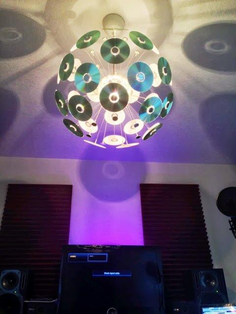 Chandelier DJ Style