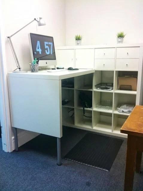 Quick Expedit Standing Desk