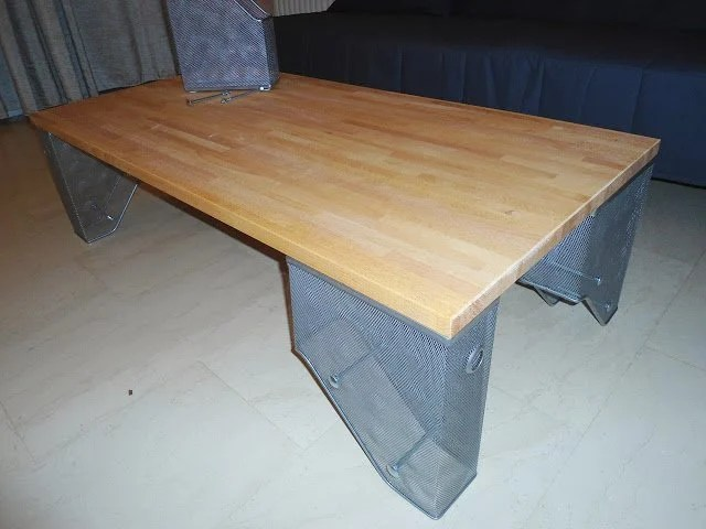 Kitchen top to coffee table