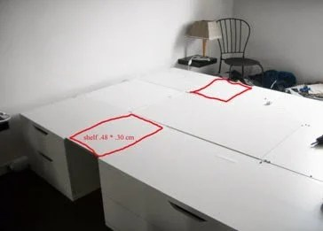Space saver bed ikea hackers for Space saver beds ikea