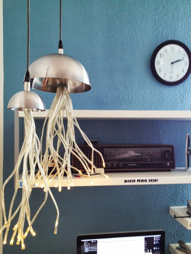 Stranne Jellyfish Lamp Ikea Hackers