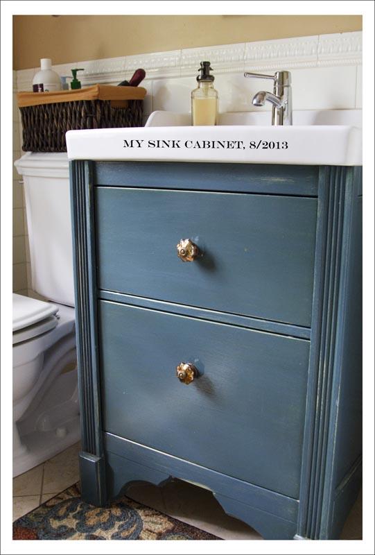 Sink Cabinet Change Style Ikea Hackers Ikea Hackers