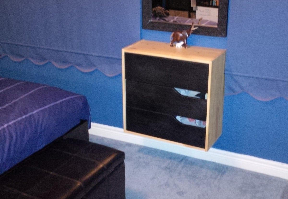 Rast Hack WallMounted Mini Mandal Dresser  IKEA Hackers