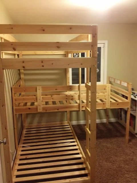 Great Triple Bunk Hack u Mydal Bunkbeds