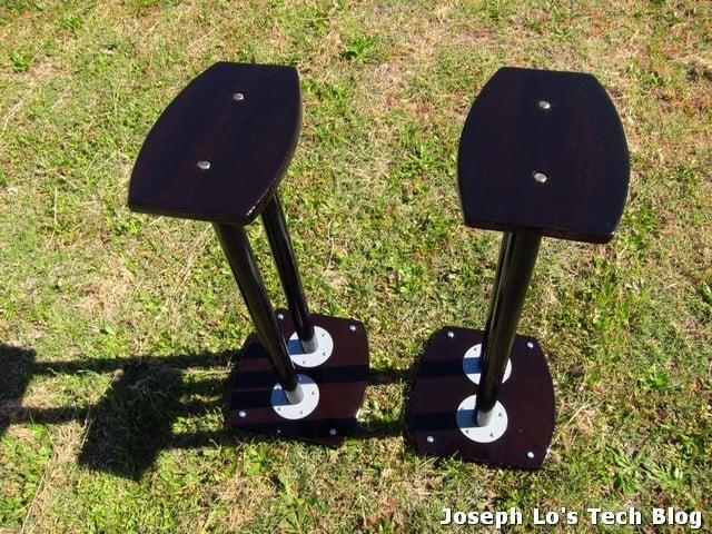 Diy Speaker Stand Using Ikea Adils Table Legs Ikea Hackers