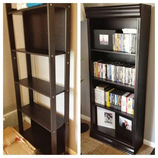 Laiva Bookcase Turned Fancy IKEA Hackers
