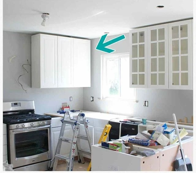 How to Hide a Soffit In Akurum Upper Cabinet  IKEA