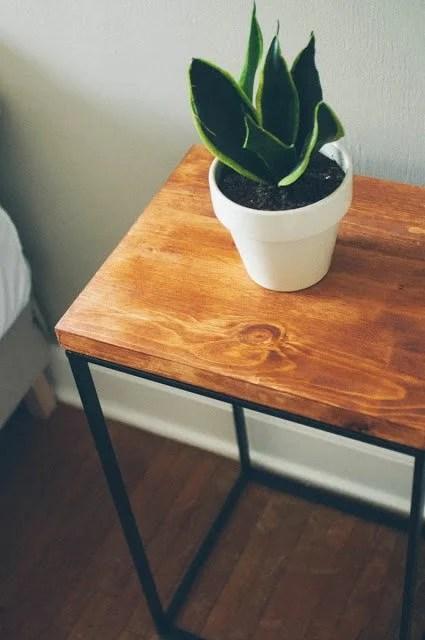 Laundry Hamper turned Beautiful Modern Side Table  IKEA Hackers  IKEA Hackers