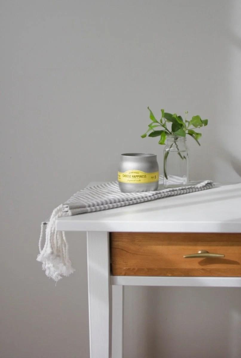 Match IKEA pine wood finish